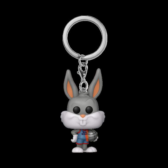 Space Jam: A New Legacy Bugs Bunny Pocket Pop Keychain