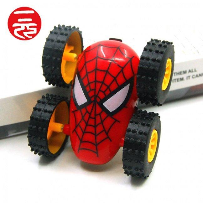Spider-Man stunt car red top
