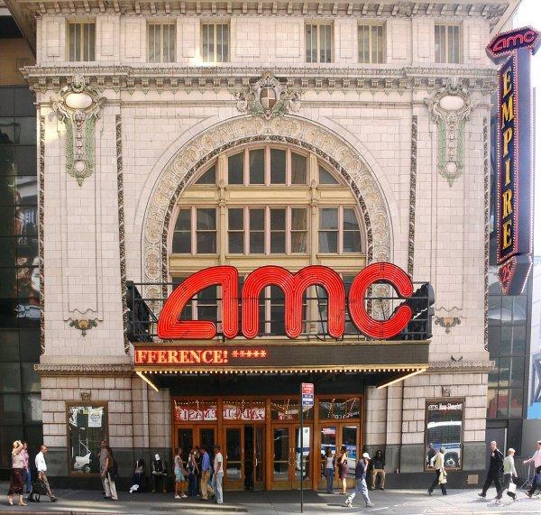 The AMC Empire 25 theatre in Times Square, New York City