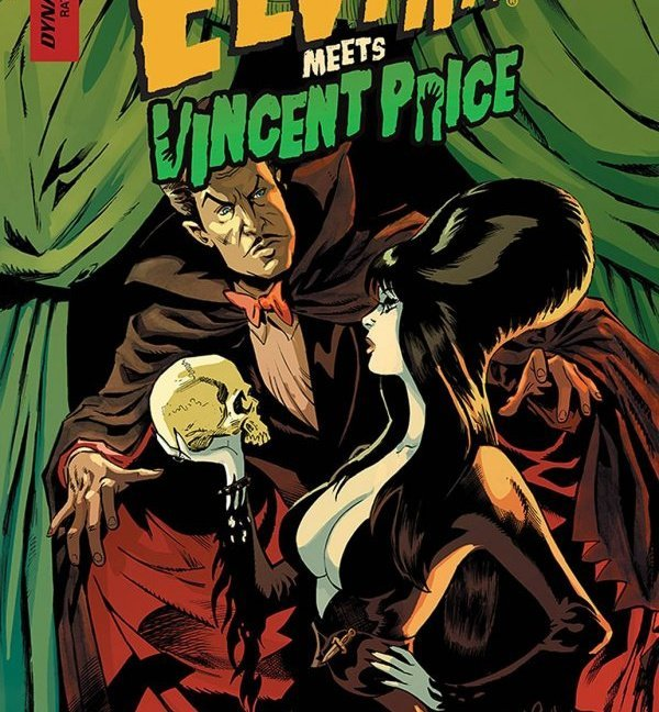 Elvira Meets Vincent Price #1 - Dave Acosta main cover