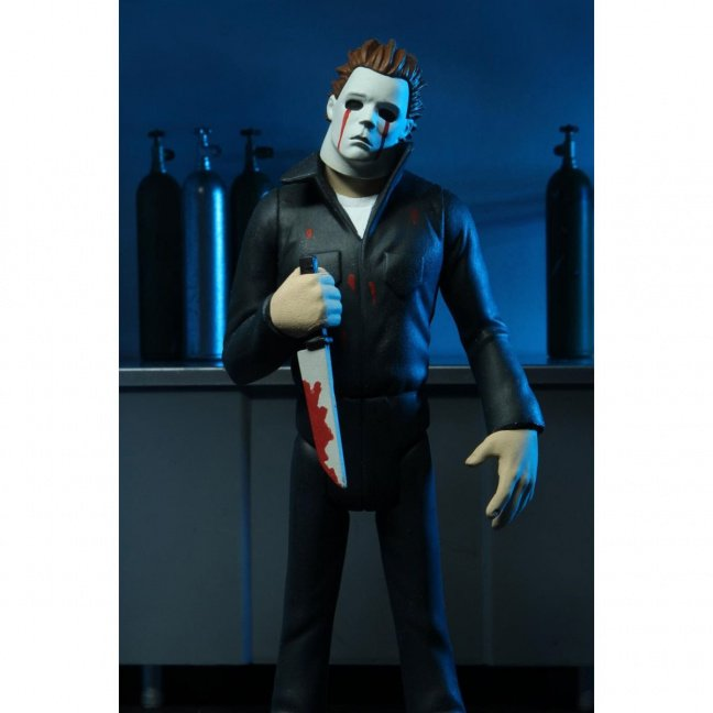 Halloween Bloody Tears Michael Myers Toony Terrors Series 5 6-Inch Scale Action Figure stylized