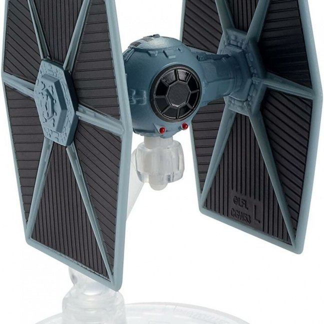 Star Wars Hot Wheels Starships 2021 Vehicle (Mix 1) - TIE Fighter side