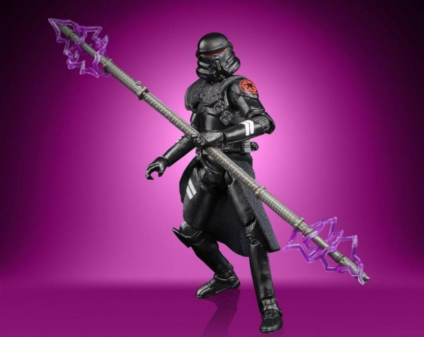 Star Wars The Vintage Collection Gaming Greats Electrostaff Purge Trooper Action Figure electrostaff