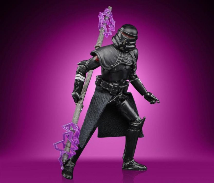Star Wars The Vintage Collection Gaming Greats Electrostaff Purge Trooper Action Figure electrostatic staff