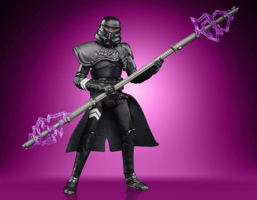 Star Wars The Vintage Collection Gaming Greats Electrostaff Purge Trooper Action Figure - front