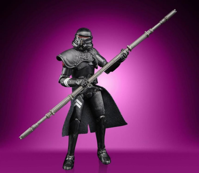 Star Wars The Vintage Collection Gaming Greats Electrostaff Purge Trooper Action Figure staff front