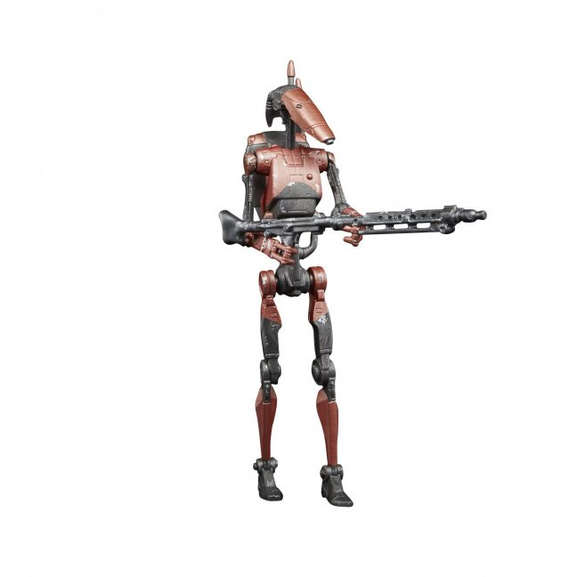 Star Wars The Vintage Collection Gaming Greats Heavy Battle Droid 3 3/4-Inch Action Figure gun