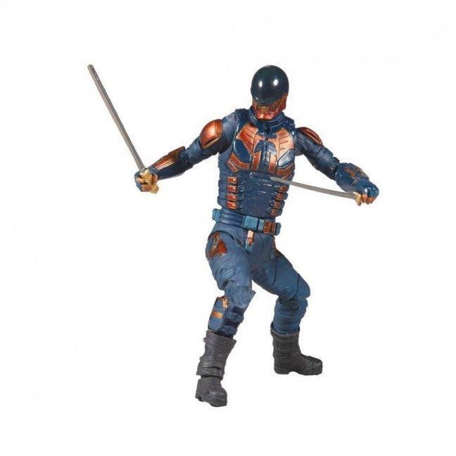 The Suicide Squad Movie Bloodsport Action Figure - DC Build-A Wave 5 posed