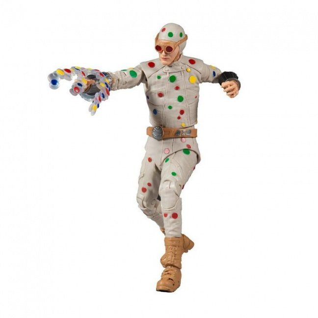 The Suicide Squad Movie Polka Dot Man Action Figure - DC Build-A Wave 5 posed