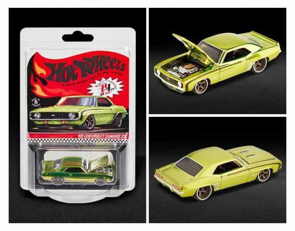 Mattel Hot Wheels RLC Exclusive '69 Chevrolet Camaro SS package