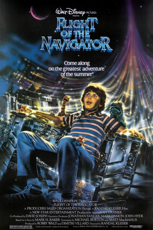 Flight of the Navigator film poster
