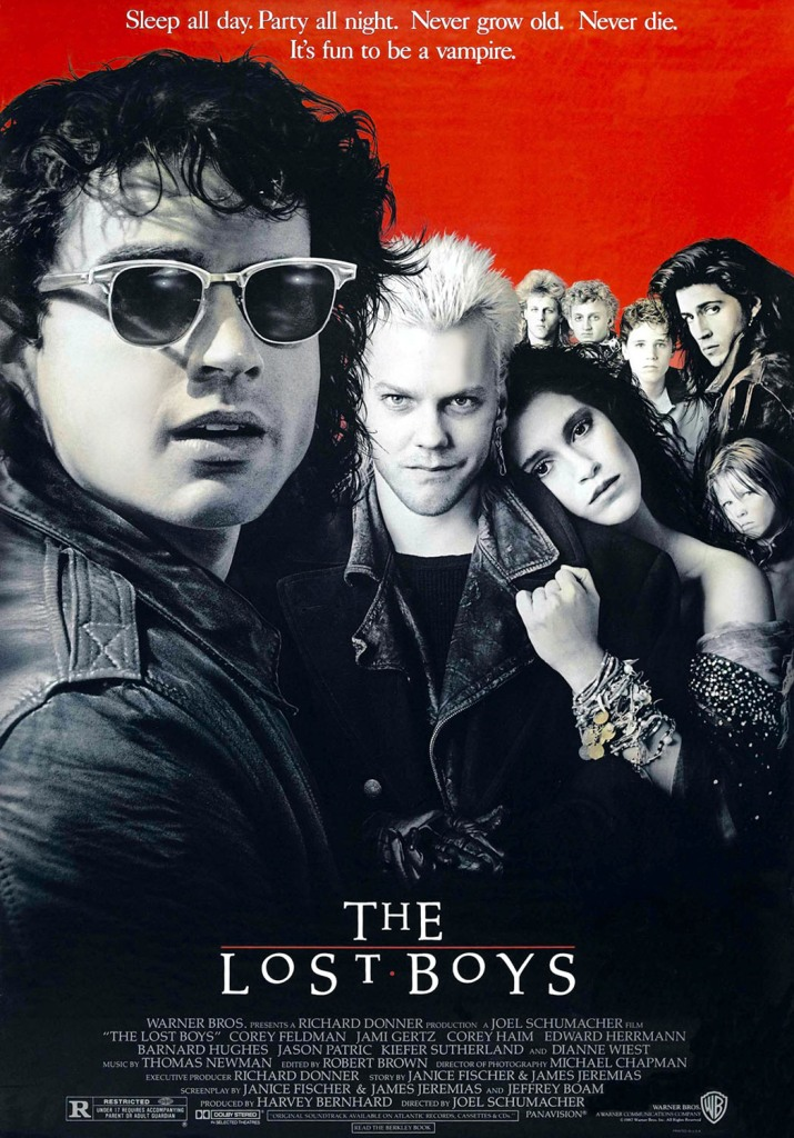 The Lost Boys 1987 movie poster