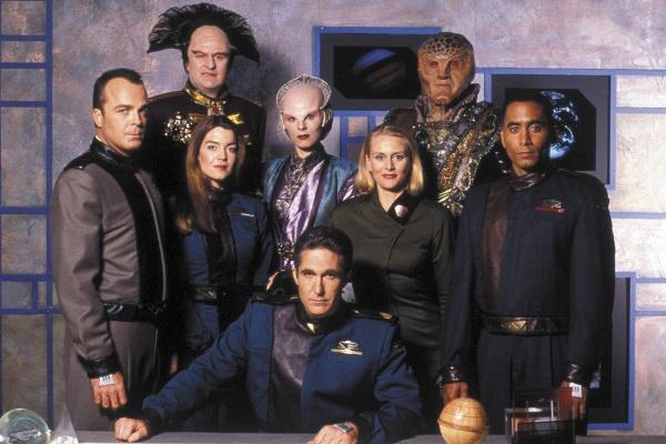 Babylon 5 original crew