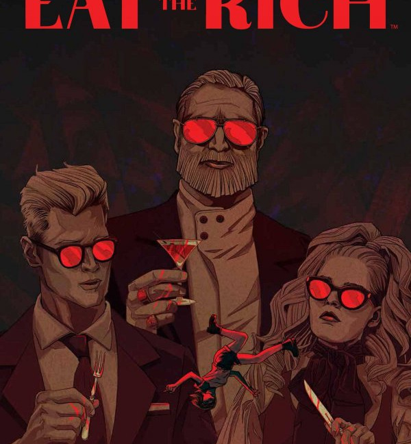 Eat the Rich #1 Cover A Kevin Tong cover
