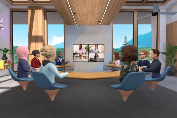 Facebook horizons workrooms