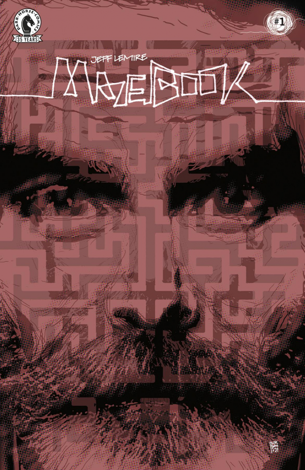 Mazebook #1 Andrea Sorrentino variant cover