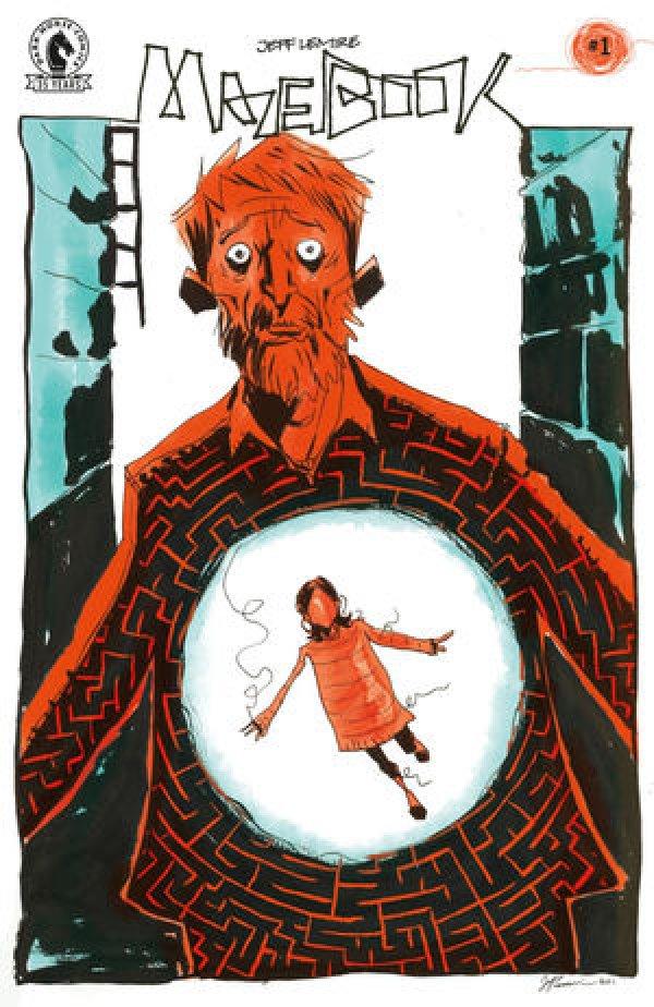 Mazebook #1 Jeff Lemire cover
