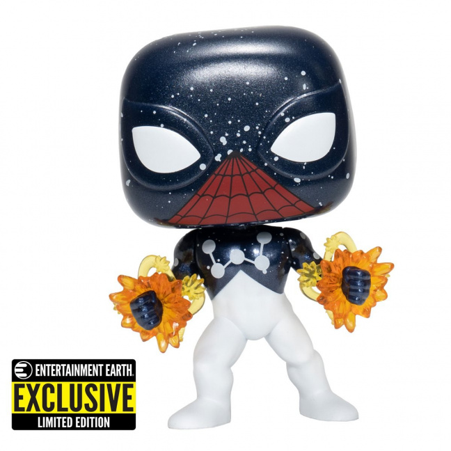 Spider-Man Captain Universe Funko Pop Bobblehead Vinyl Figure #614 front