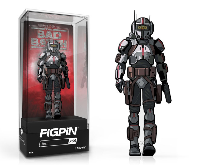 Star Wars: Bad Batch Tech FigPin Classic 3-inch pin #769 with box