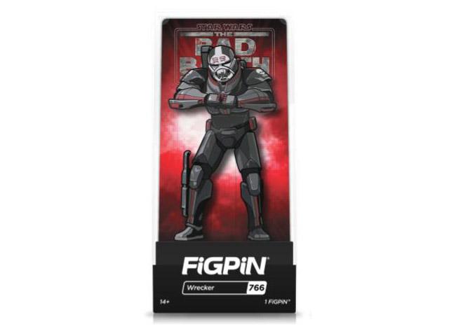 Star Wars: Bad Batch Wrecker FigPin Classic 3-inch pin #766 in box