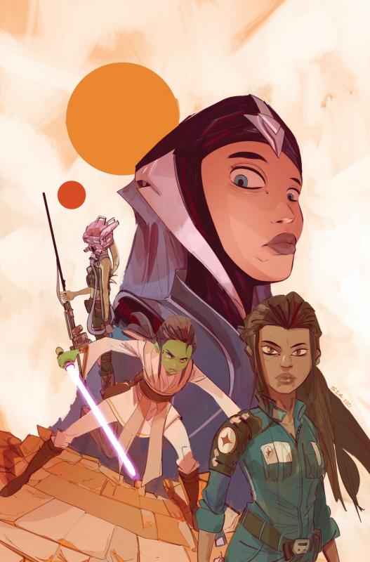 Star Wars The High Republic Adventures Annual 2021 Cover A Stefano Simeone