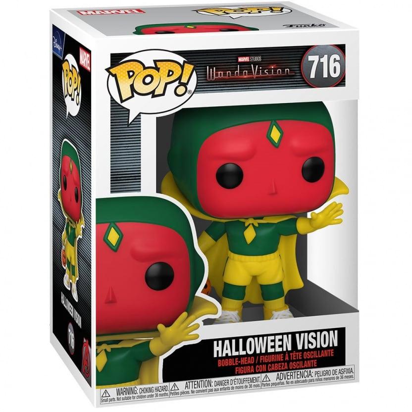 WandaVision Halloween Vision Funko Pop! Vinyl Figure #716 in box