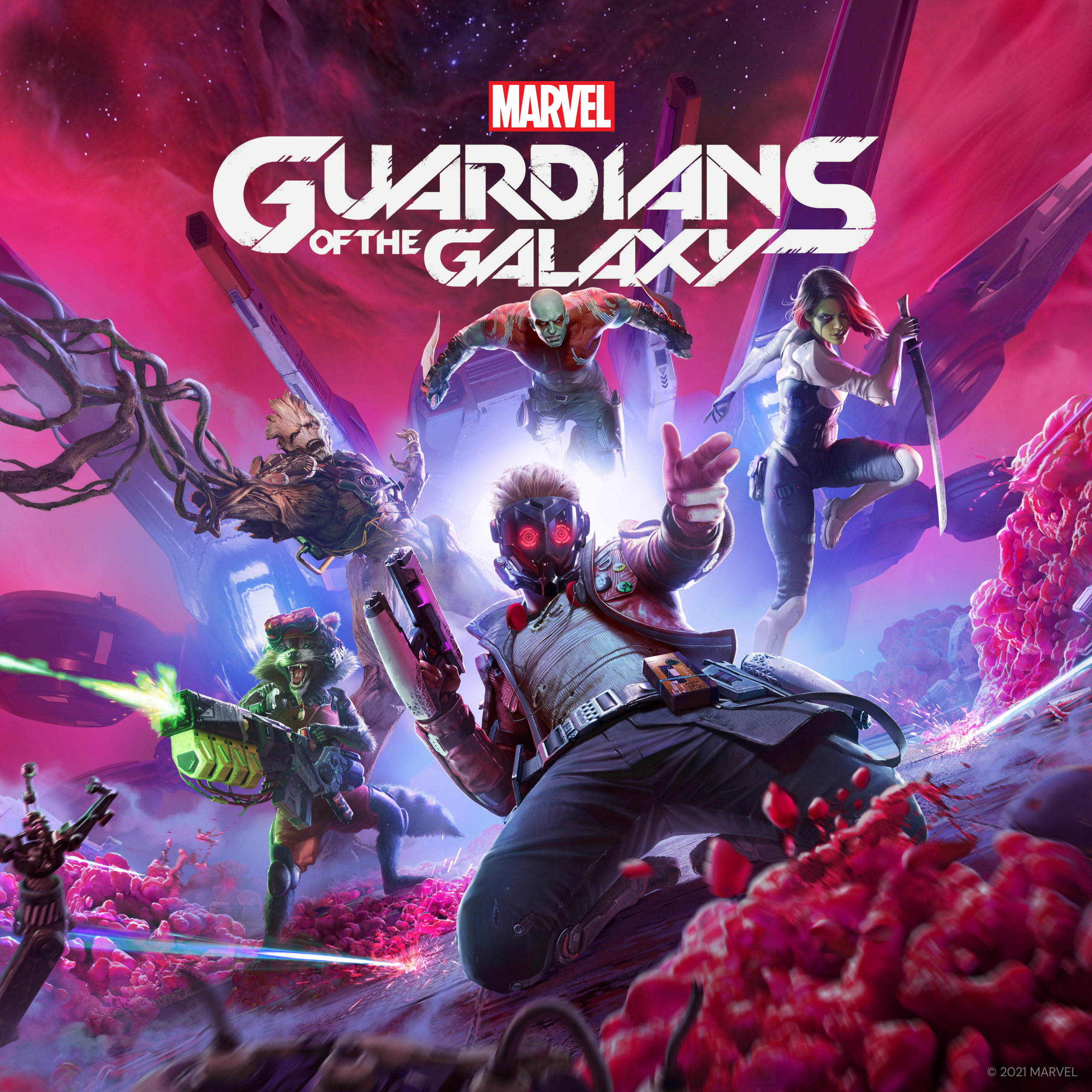 Guardians of the Galaxy video game 2021