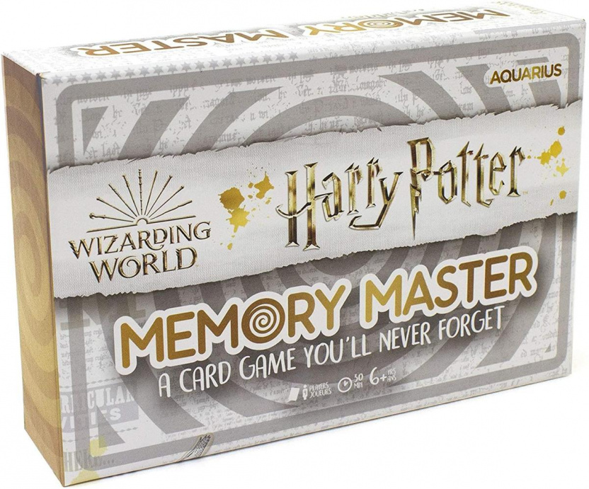 Harry Potter Memory Master Card Game box front