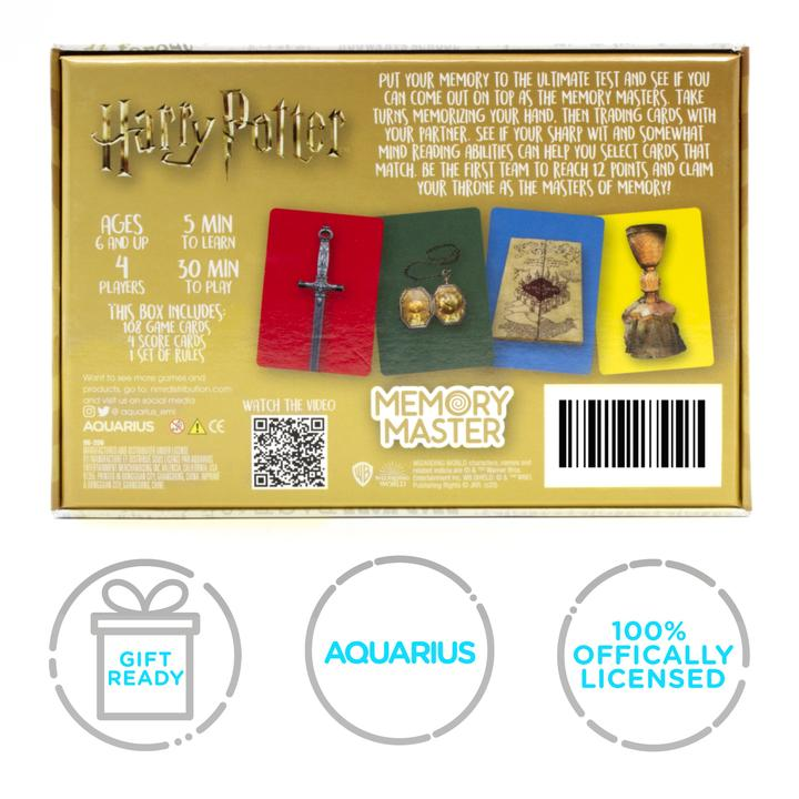 Harry Potter Memory Master Card Game box