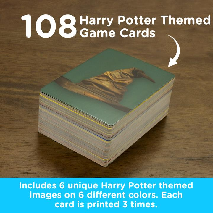 Harry Potter Memory Master Card Game card stack