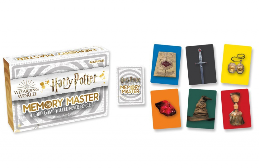 Harry Potter Memory Master Card Game display