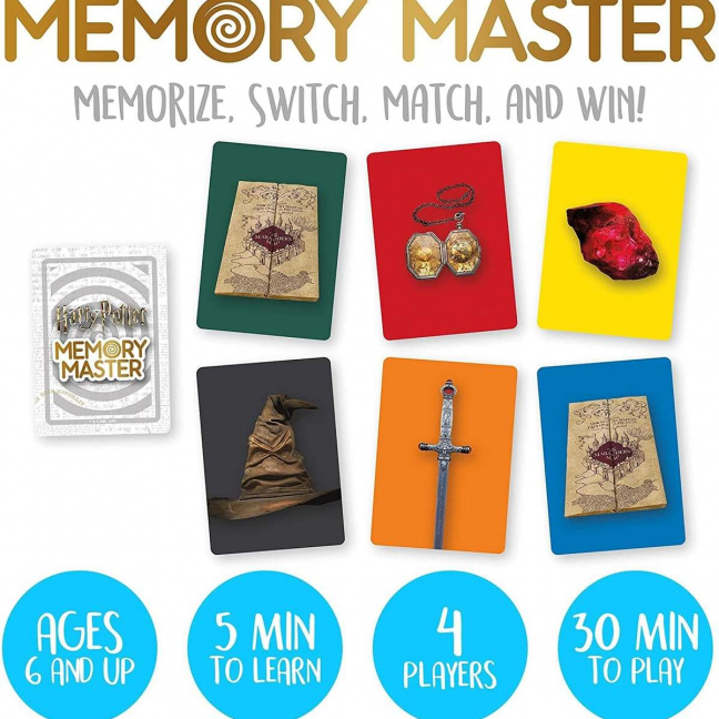 Harry Potter Memory Master Card Game show