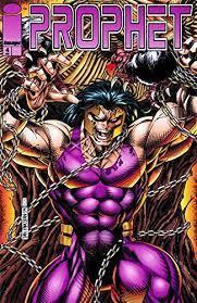 Prophet comic book cover