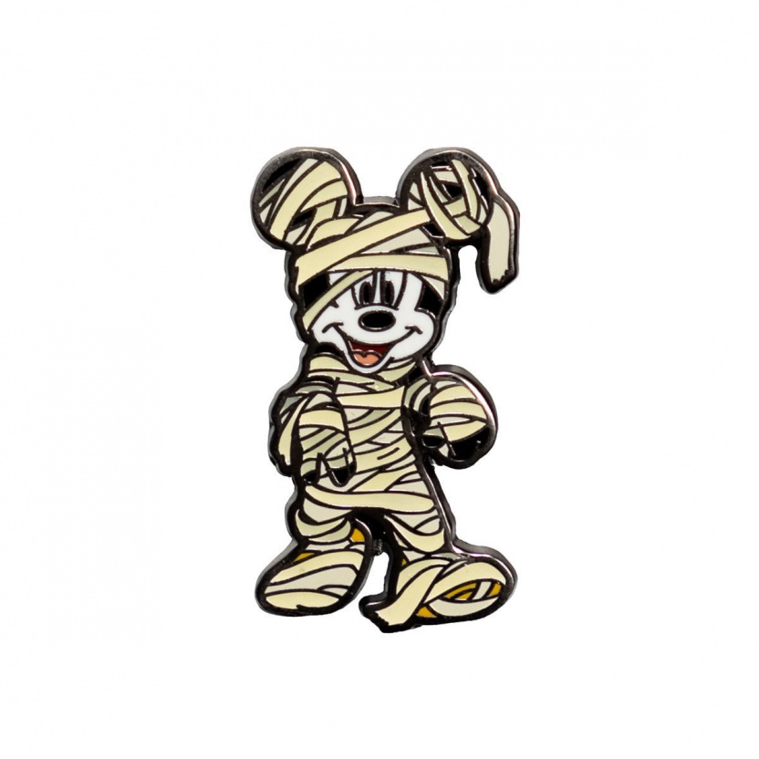 Mickey Mouse Halloween Mickeys Enamel Pin 3-Pack Exclusive - Mummy