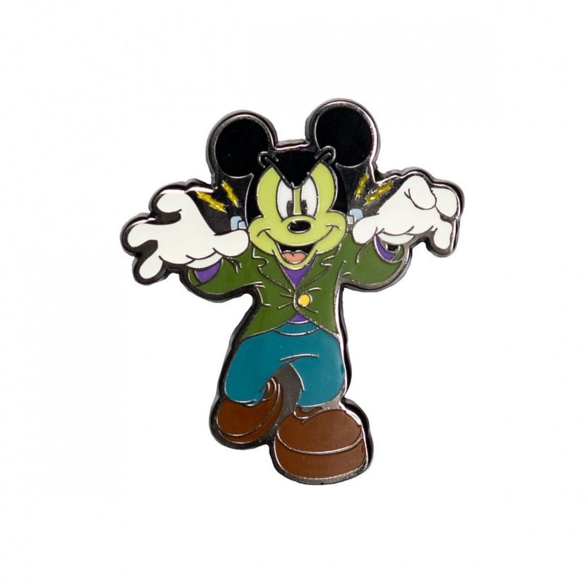 Mickey Mouse Halloween Mickeys Enamel Pin 3-Pack Exclusive - scary