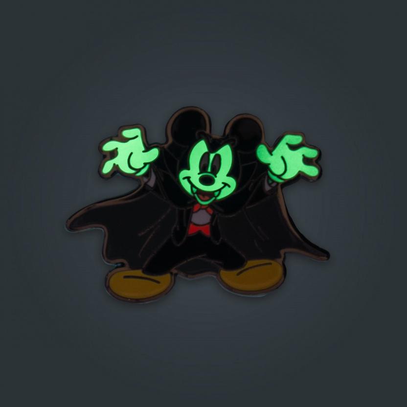 Mickey Mouse Halloween Mickeys Enamel Pin 3-Pack Exclusive - vampire glowing